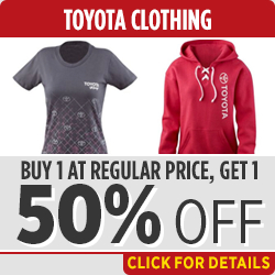 Click to View this Toyota Genuine Clothing Parts Specials in Salem, OR