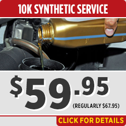 Toyota 10,000 Mile Synthetic Oil Change Service Special in Salem, OR