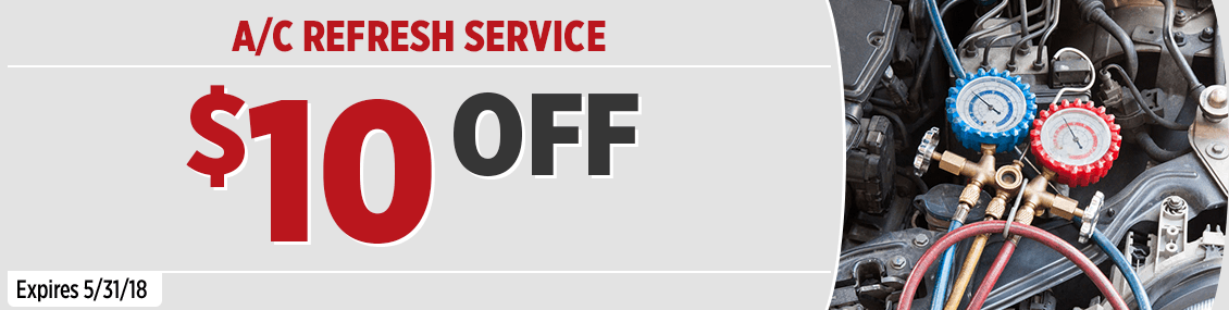 Toyota Air Conditioning Refresher Service Special this month at Capitol Toyota in Salem, OR