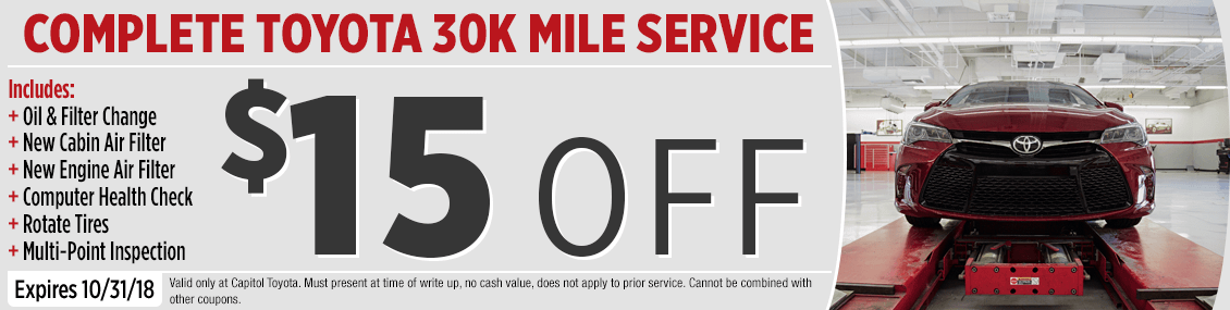 High Quality Save On Our Toyota 30,000 Mile Service Special At Capitol Toyota In Salem,  OR