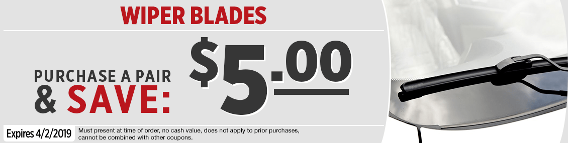 Click to Print this Genuine Toyota Wiper Blades Parts Special in Salem, OR