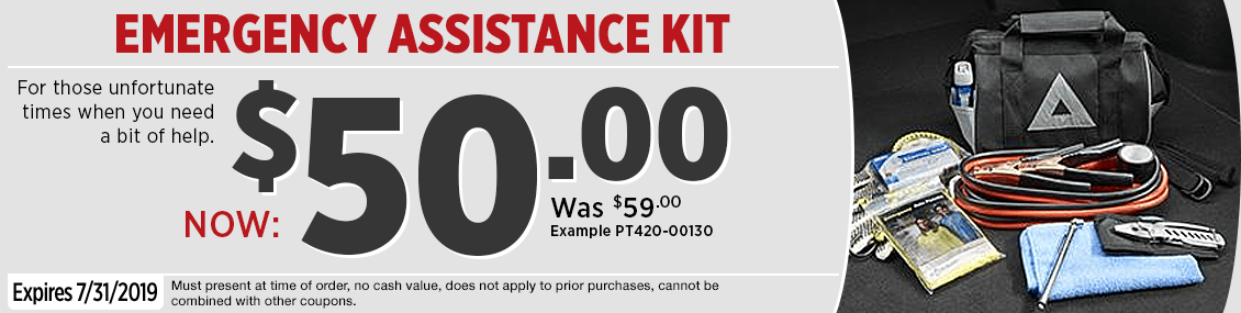 Click to Print this Genuine Toyota Emergency Preparedness Kit Parts Special in Salem, OR