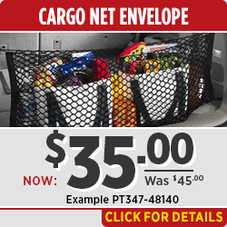 Cargo Net Parts Special in Salem, OR