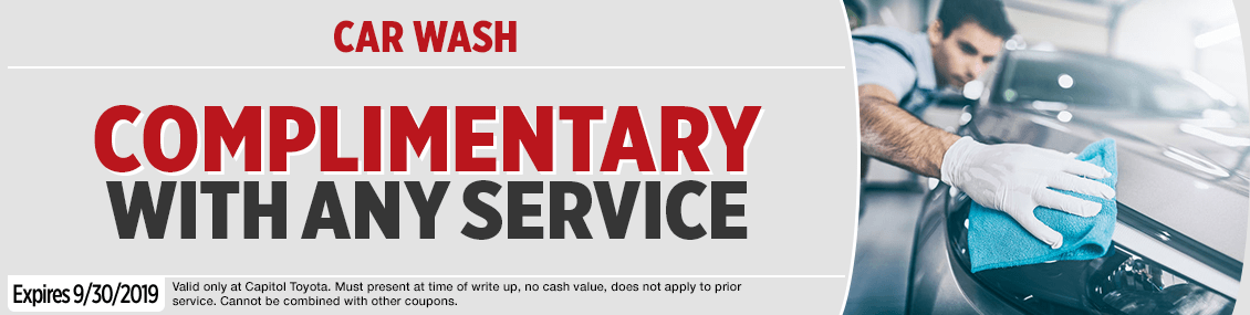 Click to Print this Complimentary car wash Service Special in Salem, OR