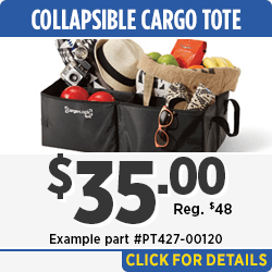 View our Large Utility Cargo Tote Parts Special in Salem, OR