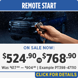 Browse our Remote Start Installation Parts Special in Salem, OR