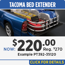 Tacoma Bed Extender Parts Special in Salem, OR