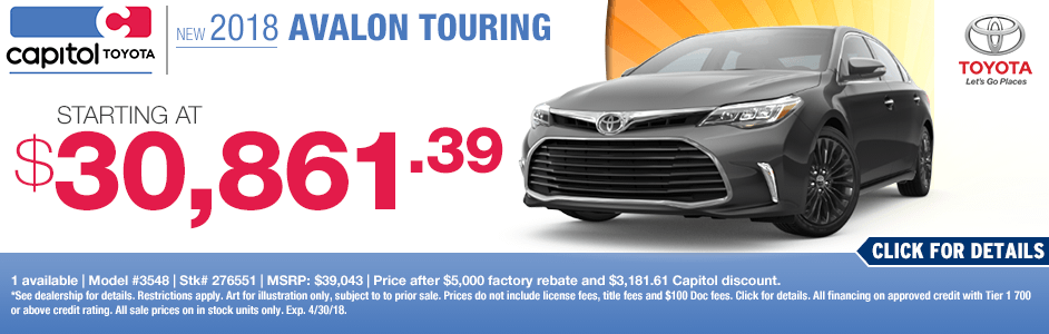 Capitol Toyota Salem Oregon >> Purchase or Lease a new Toyota Vehicle and Save Big | Salem, OR