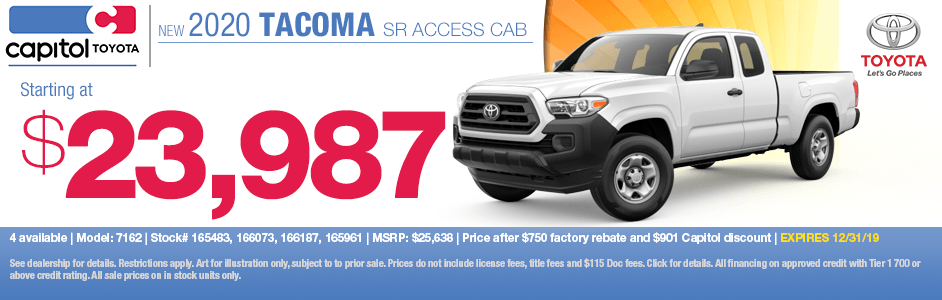 2020 Toyota Tacoma SR Access Cab Sales Special in Salem, OR