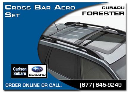 Subaru, Cross Bar Aero Set, Forester, Accessories, Parts, Specials Serving  San