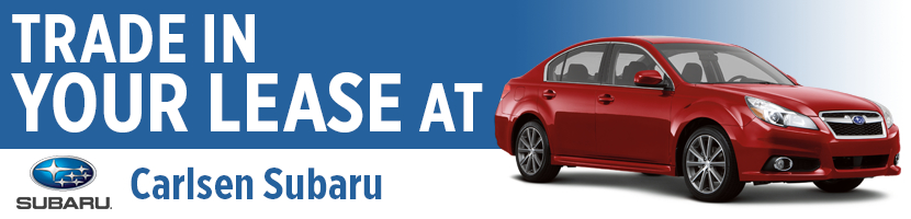 Subaru Lease Trade-in Program at Carlsen Subaru serving San Francisco, California