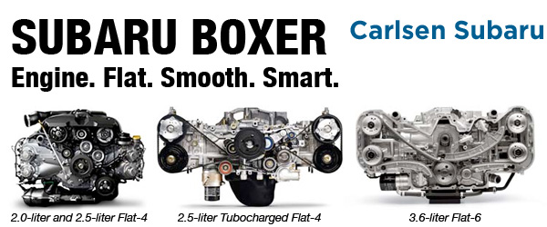Subaru Boxer Engine Features & Design Information serving San Francisco, California