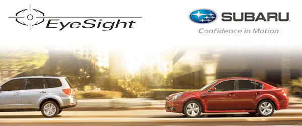 Subaru EyeSight Driver Assistance System Information provided by Carlsen Subaru serving San Francisco, California