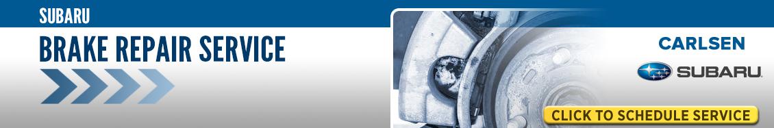 Subaru Brake Repair Service Information in Redwood City, CA