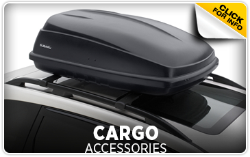 Click to learn more about Subaru Cargo Accessories in Redwood City, CA
