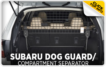 Click to research our Subaru dog guard  compartment separator in Redwood City, CA
