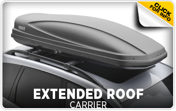 Click to research our Subaru extended roof carrier in Redwood City, CA