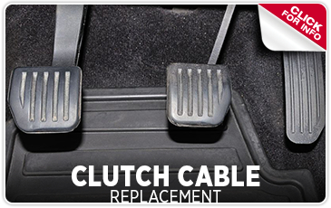 Click to learn about our Subaru clutch cable replacement service in Redwood City, CA