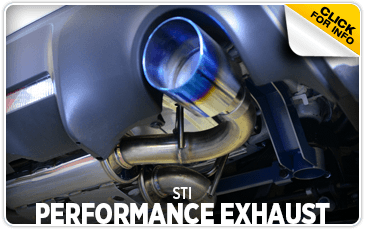 Click to research STI performance exhaust system at Carlsen Subaru serving in the San Francisco, CA area