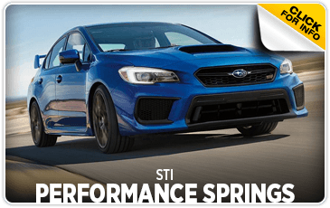 Click to research STI performance springs at Carlsen Subaru serving in the San Francisco, CA area