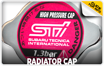 Click to research STI radiator caps at Carlsen Subaru serving in the San Francisco, CA area