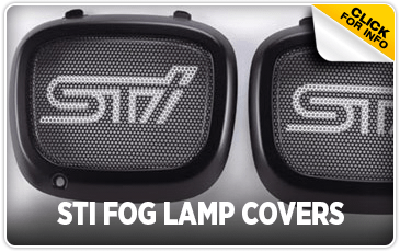 Click to view our Subaru STI fog lamp covers information serving San Francisco, CA