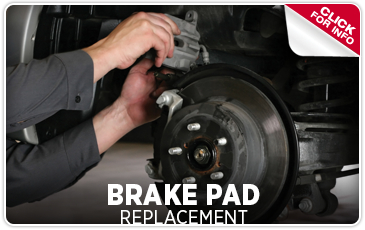Click to Learn More About Our Brake Pad Replacement Service Serving San Francisco, CA
