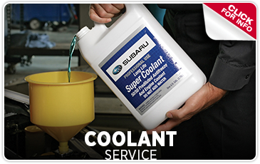 Click For Subaru coolant Service in Redwood City, CA