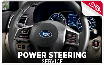 Click For Subaru Power Steering Service information in Redwood City, CA