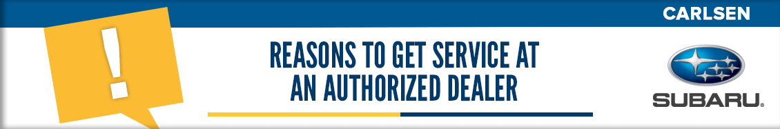 Reasons to Get Service at Authorized Dealer