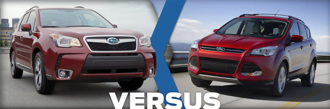 Compare the 2015 Subaru Forester VS Ford Escape at Carlsen Subaru