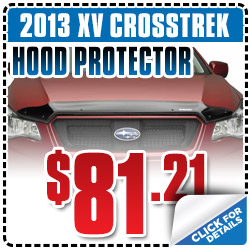 Subaru XV Crosstrek Hood Protector Parts Coupon Special San Francisco, CA