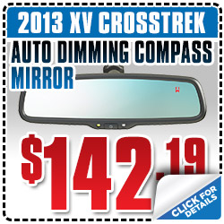 Subaru XV Mirror Parts Coupon Special San Francisco, CA