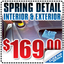Subaru Spring Detail Interior Exterior Cash Wash Service Coupon Special San Francisco, CA