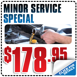 Click for Savings on Subaru minor scheduled synthetic oil service in Redwood City, CA