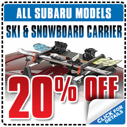 Click to View Our Subaru Ski & Snowboard Carriers Parts Special serving San Francisco, CA