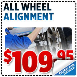 Click for Savings on this Subaru All-Wheel Alignment service special.