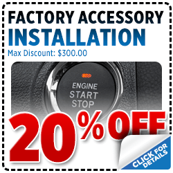 Click for Savings on this Subaru accessory installation service special.