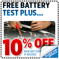 Click to View Our Subaru Free Battery Test Plus Service Special serving San Francisco, CA