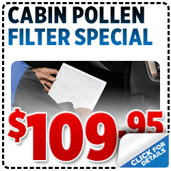 Click to View Our Subaru Cabin Pollen Filter Service Special serving San Francisco, CA