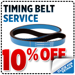 Click to browse our Timing Belt Replacement service special at Carlsen Subaru serving San Francisco, CA