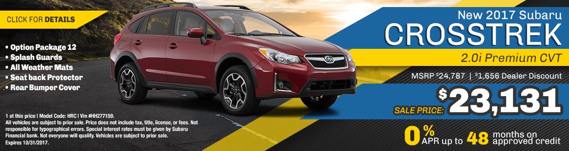 2017 Subaru Crosstrek 2.0i Premium CVT Sales Special serving San Francisco, CA