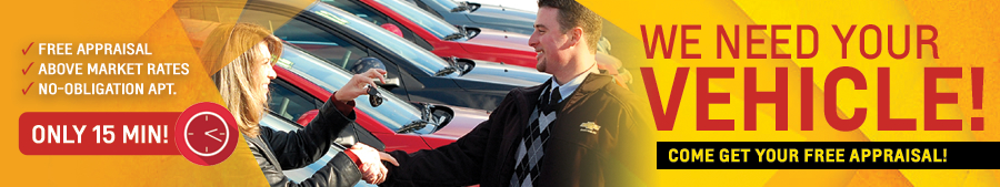 Get Your Free Appraisal at Carr Chevrolet