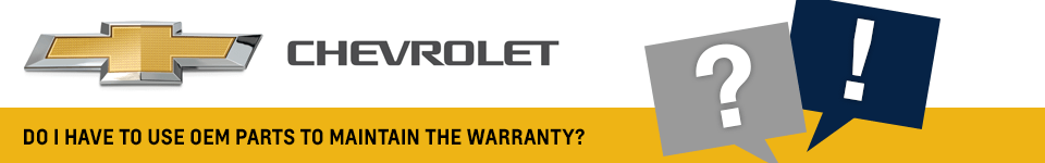 Do I Need To Use OEM Parts to Maintain My Vehicle's Warranty - Beaverton, OR