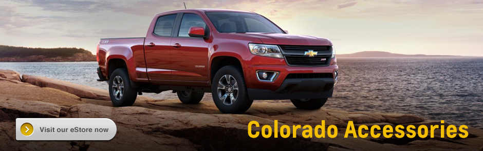 Click to Buy Genuine Chevrolet Colorado Accessories