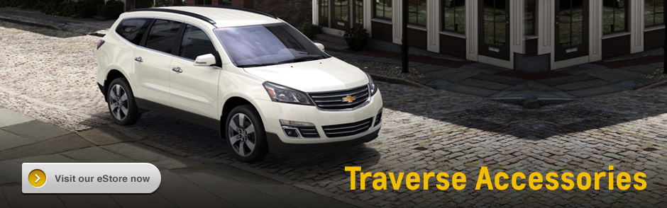 Click to Buy Genuine Chevrolet Traverse Accessories