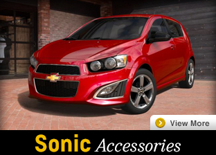 Click For Chevrolet Sonic Accessories in Salem, OR