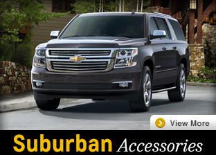 Click For Chevrolet Suburban Accessories in Salem, OR