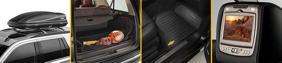 Genuine Chevrolet Tahoe Accessories | Beaverton Car Accessories