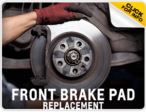 Click to research our Chevrolet Front Brake Pad Replacement service at Carr Chevrolet in Beaverton, OR